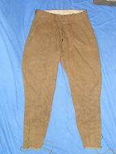 WWI US Army AEF Doughboy Uniform Pants Jodhpurs Breeches Trousers Military War