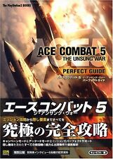 JAPAN Ace Combat 5 The Unsung War Perfect Guide book OOP