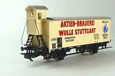 Märklin 4678 Bierwagen/Kühlwagen Aktien-Brauerei Wulle Stuttgart H0  OVP