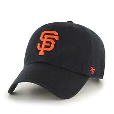 MLB Brand'47 Basecap/BASEBALLCAP San Francisco Giants Black Logo Slouch ha