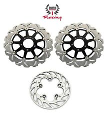Front & Rear Brake Rotors For Suzuki GSXR 600 GSXR 750 97-03 GSXR 1000 97-01