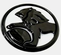 Holden Badge 112mm Rear badge Gloss Black Edition  Holden SS SV6 VF Commodore.