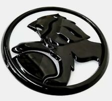 Lion Badge 130mm Gloss Black Edition For Holden SS SSV SV6 VE -VF