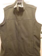 Outdoor Men's Polar Fleece Vest, Sleeveless, Kombu Green, Size L-  New with Tags