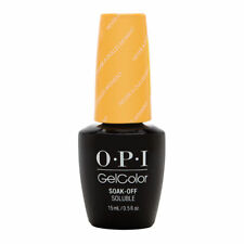 OPI GCW56 GelColor Never a Dulles Moment 0.5oz. Nail Polish - Yellow