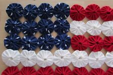 Patriotic mini Yo Yo flag with red white and blue with stars