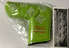 Brand New In Bag..Scotty Cameron Custom Shop Dancing Lime Headcover BNIB