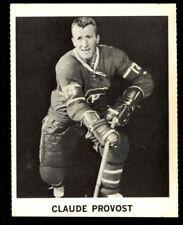 1965 CLAUDE PROVOST COKE NHL COCA COLA CANADIENS