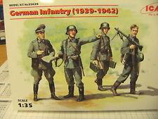 ICM 35639 1:35 Figurensatz German Infantry 1939-42  NEU OVP