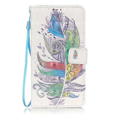For Samsung Galaxy S5 i9600 S5 Neo Cute Print Wallet PU Leather Stand Case Cover