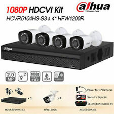 Dahua 4 channel / CH 2MP Full HD 1080P CCTV Combo Set