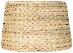 Woven Seagrass Drum Shade 10x12x8.25 (Spider)