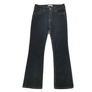 Levis 629 Dark Blue Bootcut Denim Jeans Womens Ladies W30 L29 UK 10 12