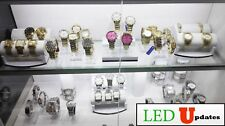 2x 20 inch linked Showcase LED Light U5630 white for Display Cabinet + UL power