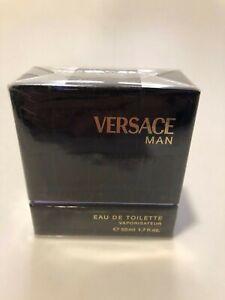 Gianni Versace Man Eau de Toilette  1.7 FL.OZ / 50ml RARE