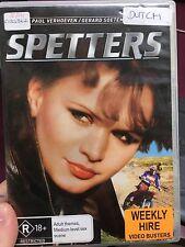 Spetters ex-rental region 4 DVD (1990 Paul Verhoeven Dutch movie) * rare *