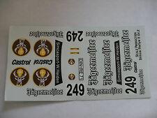 ancien decals decalcomanie  sur simca 1000 rallye 2 jagermeister 1/24