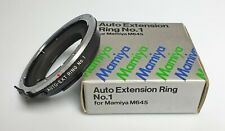 MAMIYA AUTO EXTENSION RING N. 1  for M645
