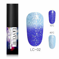LILYCUTE 5ml Thermal Color Changing UV Gel Polish Soak Off Nail Art Varnish DIY
