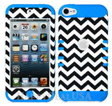For Apple iPod Touch iTouch 5 | 6 - KoolKase Hybrid Cover Case - Chevron Wave 98