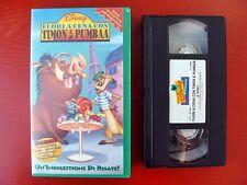 VHS.08) FUORI A CENA CON TIMON E PUMBAA - WALT DISNEY