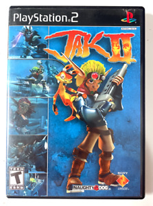 BLACK LABEL! Jak II (Sony PlayStation 2, 2003) PS2 COMPLETE & TESTED CIB