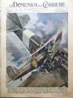 La Domenica del Corriere 2 Febbraio 1941 WW2 Germania Totò Macario Titina Isola