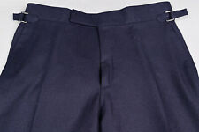 BNWT Tom Ford navy wool trousers! 30 US - 46 IT!! $ 1,400!!