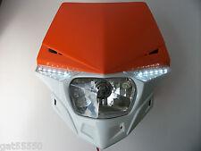 UFO KTM NARANJA camino legal Faro Enduro SX EXC XCF SXF Lc4 EGS Streetfighter