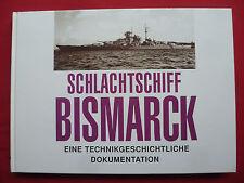 """SCHLACHTSCHIFF """"BISMARCK""""~EINE TECHNIKGESCHICHTLICHE DOKUMENTATION~BREYER/KOOP~"""