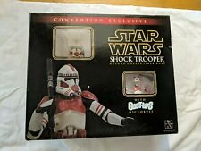 Star Wars Shock Trooper Convention Exclusive Collectible Bust - Complete