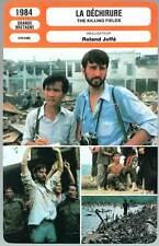 LA DECHIRURE - Waterston,Ngor,Joffé (Fiche Cinéma) 1984 - The Killing Fields