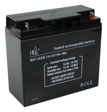 Blei Akku Batterie 12 V - 17 Ah / Wartungsfrei / 181 x 77 x 167 mm / Universal