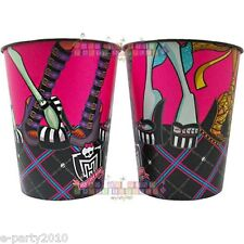 MONSTER HIGH REUSABLE KEEPSAKE CUPS (2) ~ Birthday Party Supplies Favors Plastic