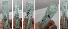 394.70ct Cambodia 100% Natural Raw Aquamarine Crystal Stick Specimen 79.90g 4in
