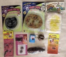 9pc lot Stinky, Gross Jokes Gags Stocking Stuffers Fart Cushion Puke poop