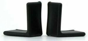 """Bed Frame Gash Protector 1-1/2"""" x 1-1/2"""" Edge Corner End Covers/Caps (Set of 2)"""
