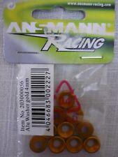 Ansmann Racing Aluminium Countersunk 4mm Gold Washers (Qty 10) 203000056