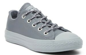 CONVERSE ALL STAR OX BABY INFANT JUNIOR YOUTH KIDS CHILDRENS CASUAL LEATHER SHOE