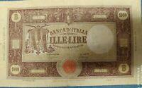 Banconota 1000 Lire Grande M Decreto 01-08-1944 NC MB