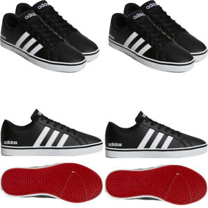 Adidas Mens Trainers Skateboarding Pace Leather Sneaker Casual Shoes Black Size