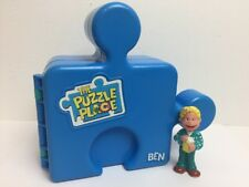 The Puzzle Place Ben Playset Playhouse Fisher Price 1994 w/Figure