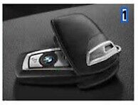 Genuine BMW Leather Key cover black