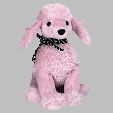 Ty Beanie Babies - Brigitte the Pink Poodle Dog Plush Toy Kids Children Gift New