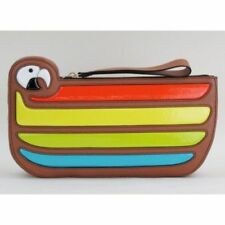 Kate Spade New York Macaw Clutch Parrot Cay Natural HANDBAG clutch multi color