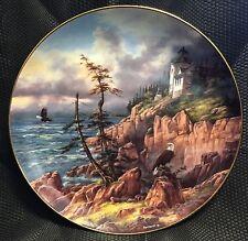 God Bless America Danbury Collectors Plate Vigilant Beacon Acadia National Park