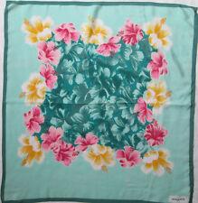 19a93ad06a5 Magnifique Foulard GEORGES RECH 100% soie TBEG vintage scarf 65 x 70 cm