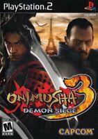 Onimusha 3: Demon Siege - Playstation 2 Game Complete