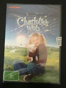 NICKELODEON FAMILY DVD~ CHARLOTTE'S WEB ~ BNIP