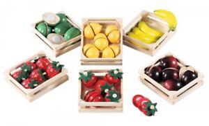 FUNTOYS 08066 Holz-Früchteset für den Kaufladen